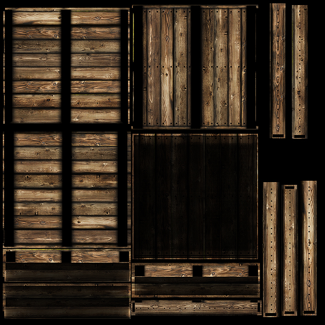 wood crate texture 3