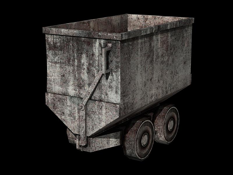Minecart - gray