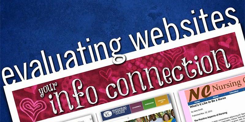 evaluating Websites video